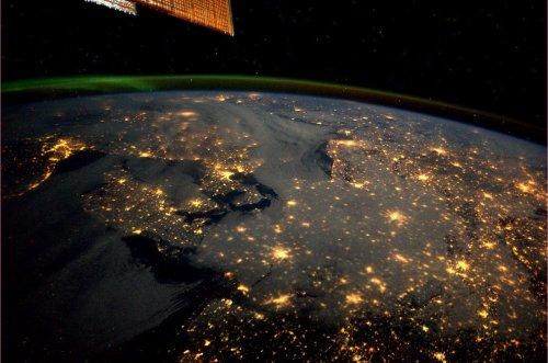 Космические снимки астронавта Андре Кёйперса (24 шт)