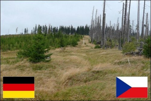 На границах между государствами