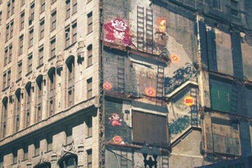 Стрит-арт рисунки, вдохновлённые видеоиграми (23 фото)