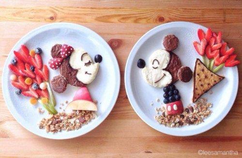 Завтраки для дочерей от креативной мамы (29 фото)