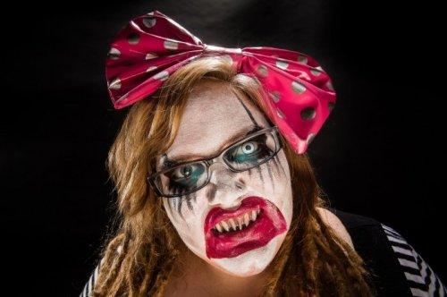 Самые жуткие образы на Хэллоуин (28 фото)