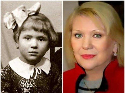 Детские фотографии легендарных советских актрис (15 фото)