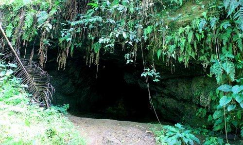 Фотозагадка дня: что в пещере?