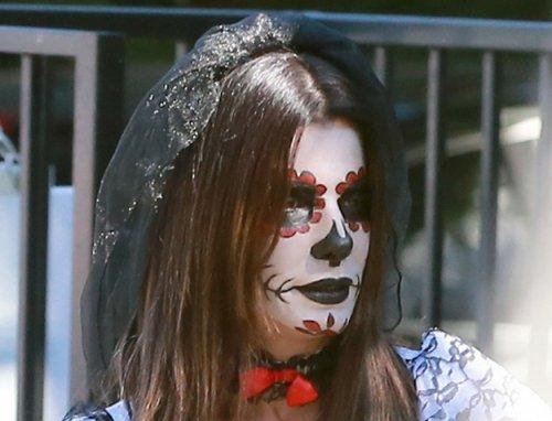 Знаменитости на хэллоуинских вечеринках (28 фото)