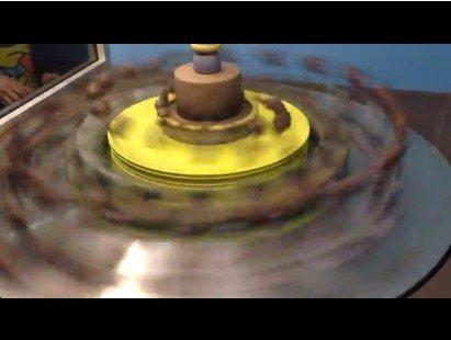 Шоколад под светом стробоскопа