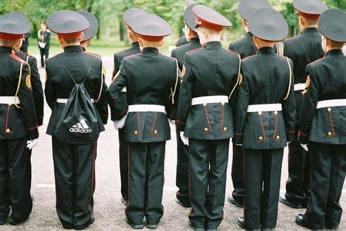 Пожелания хорошего, смешные картинки про военных кадетских