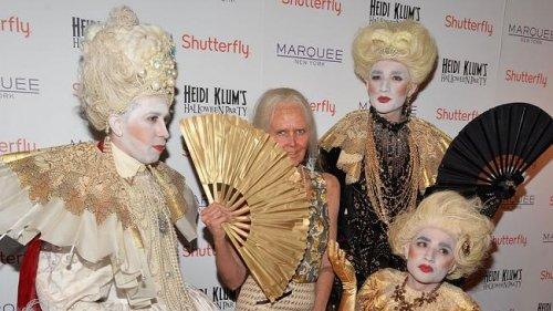 У Хайди Клум – самый оригинальный образ на Хэллоуин среди знаменитостей (16 фото)