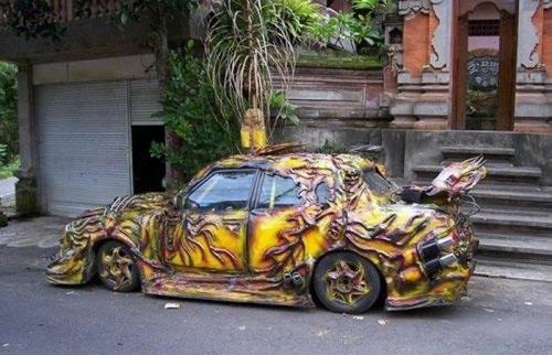 Невероятный тюнинг и рестайлинг автомобилей (31 фото)