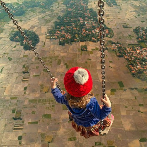 Сюрреалистический мир Ионуца Караш (22 фото)