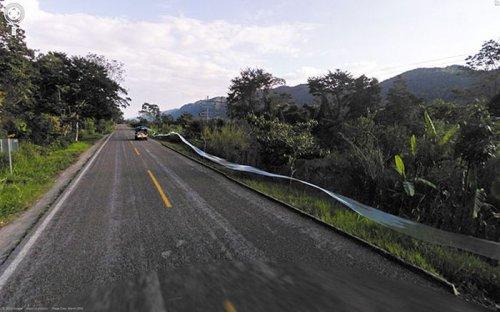 Впечатляющие фотографии Google Street View (22 фото)