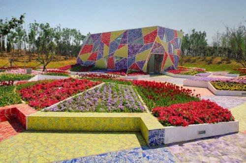 Музей керамики в мозаичном парке в Цзиньчжоу (23 фото)