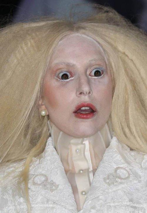 "Lady Gaga на церемонии награждения ""Женщина года Glamour"" (3 фото)"