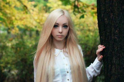 Алина Ковалевская – новая живая кукла Украины (9 фото + видео)