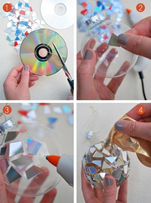 Как легко и быстро сделать новогоднюю игрушку