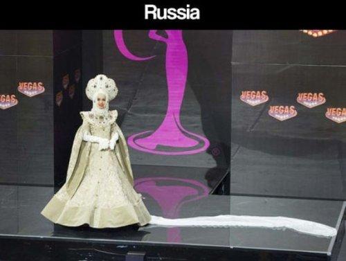 Участницы конкурса Мисс Вселенная 2013 в национальных костюмах (34 фото)