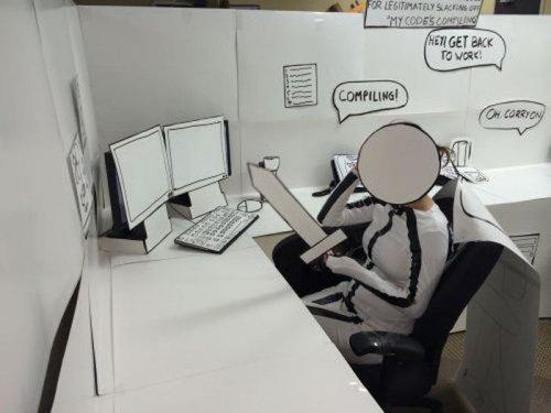 Приколы и казусы на рабочем месте (25 фото)