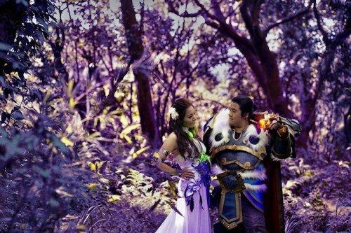 Свадьба в стиле игры World of Warcraft (7 фото)