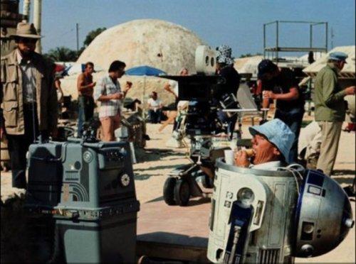 Фотографии со съёмок Star Wars (38 шт)