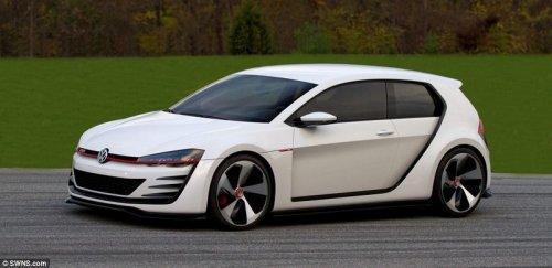 ����� Volkswagen Golf GTI � ���� �� ����� ������� ���������� � ���� (13 ����)