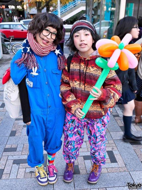 Токийские модники и модницы (29 фото)