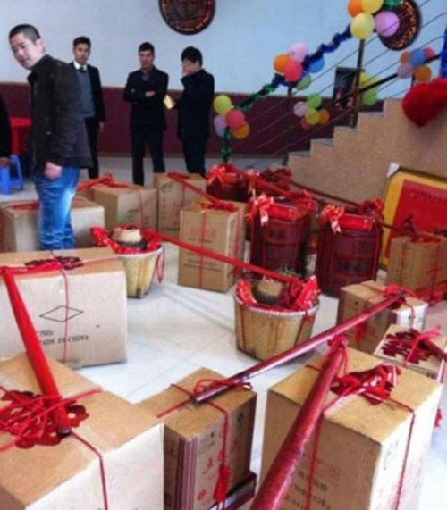 Предложение руки и сердца китайского бизнесмена (10 фото)