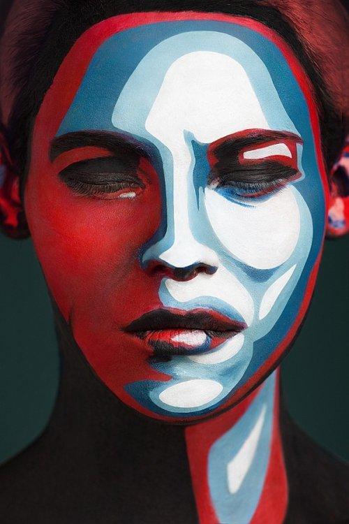 Невероятный face painting (25 фото)