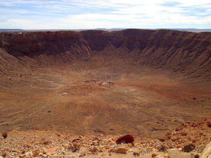 метеоритные кратеры на земле фото должен