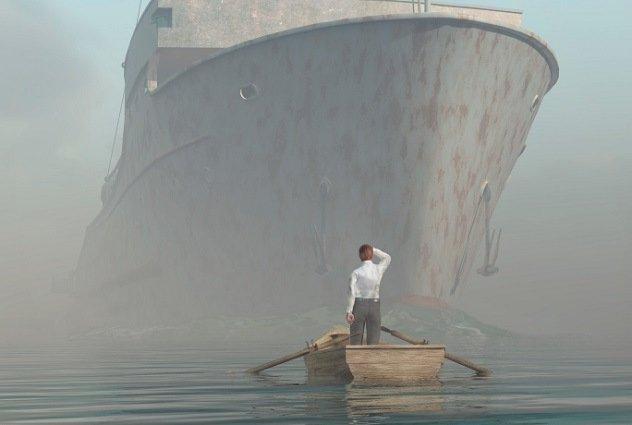 подводная лодка переместилась во времени
