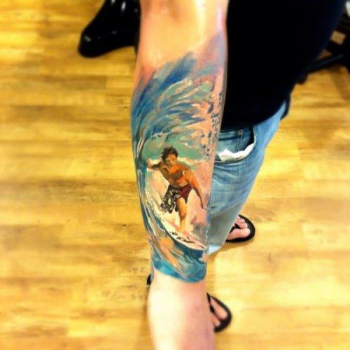Художественные татуировки (32 шт)