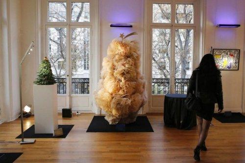 Рождественские ёлки от именитых дизайнеров (15 фото)