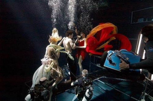 Фотографии с подводных съёмок (28 шт)