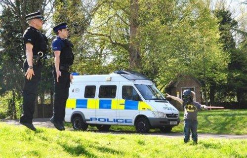 Будни полицейских (32 фото)