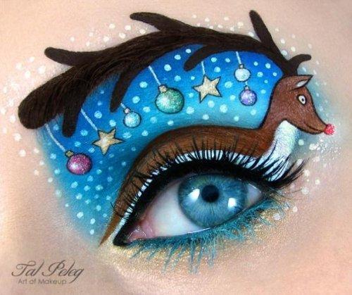 Сказочный макияж глаз от Тал Пелег (14 фото)