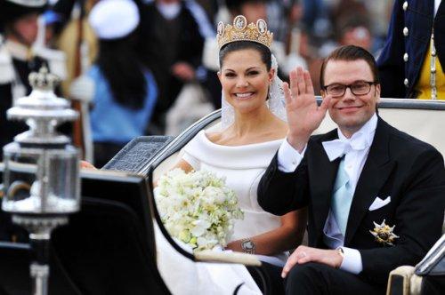 Топ-10: Сказочные свадьбы в реальной жизни