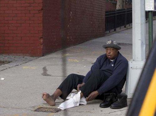 Добрый поступок одного нью-йоркского полицейского (3 фото)