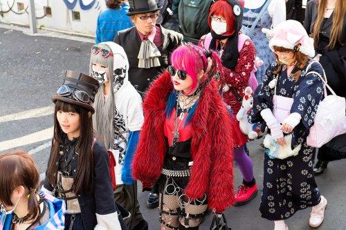 Токийские модники и фрики (26 фото)