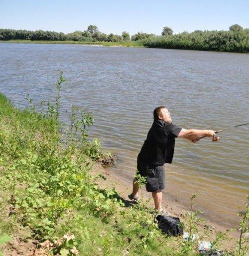 Это какая-то неправильная рыбалка (13 фото)