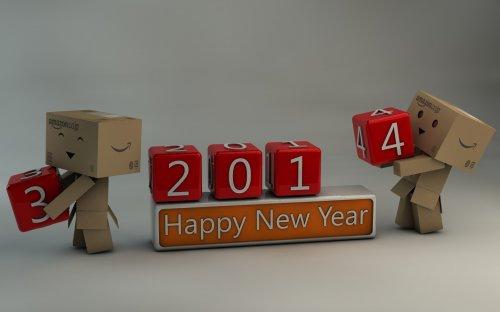 Новогодние обои на Бугаге (40 шт)
