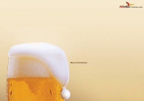 Яркие образцы новогодней рекламы (28 фото)