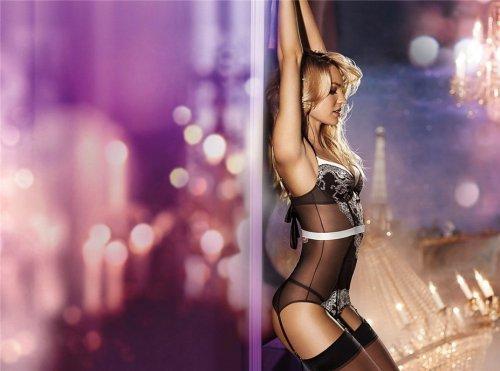 Кэндис Свейнпол представила новую коллекцию нижнего белья и купальников от Victoria's Secret (33 фото)