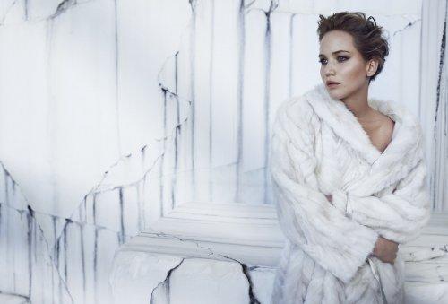 Дженнифер Лоуренс в фотосессии для InStyle (декабрь 2013) (7 фото + видео)