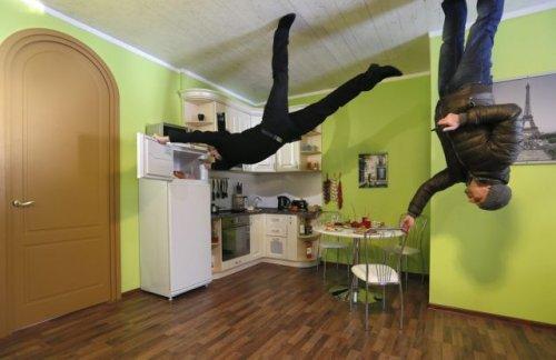 Дом-перевёртыш в Москве (8 фото + видео)