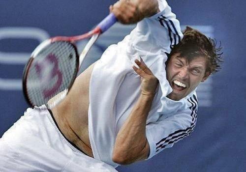 Забавные лица спортсменов во время выступлений (17 фото)