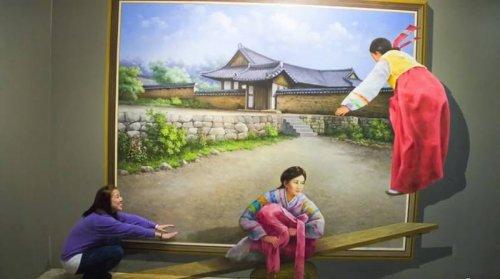 Музей обмана зрения в Сеуле (32 фото)