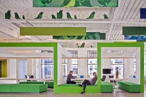 Самые необычные офисы компаний (37 фото)