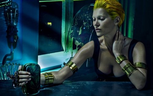 Кейт Мосс в фотосессии для Alexander McQueen (9 фото)