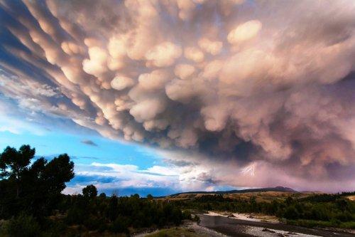 Mammatus, или вымеобразные облака (20 фото)