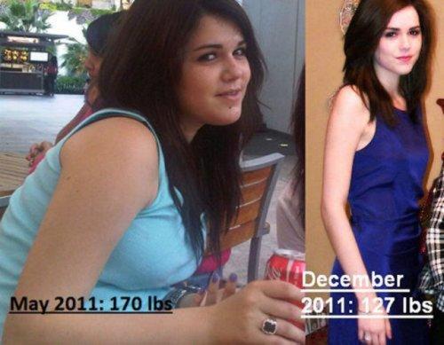 Из толстушек – в стройняшки (32 фото)