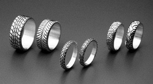 Кольца мужские оригинальные (18 фото)