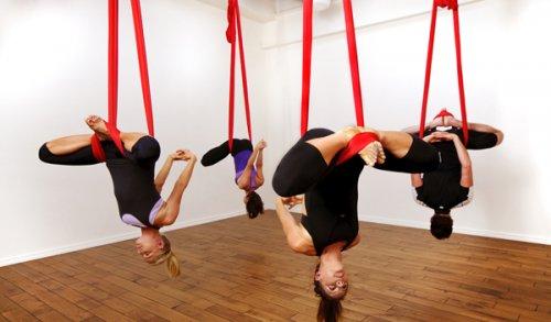 10 Необычных видов йоги